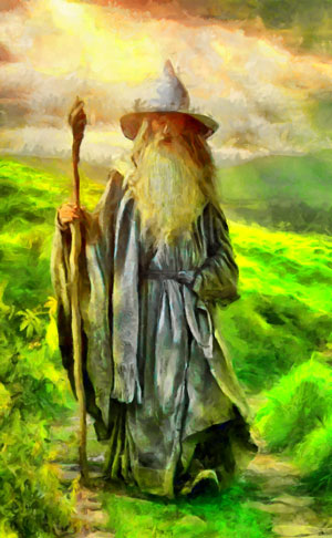 J. R. R. Tolkien biography - Gandalf