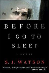 Before I Go to Sleep by S J Watson